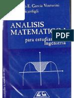 Análisis Matemático I Para Estudiantes de Ingeniería - Venturini y ScardigliASD