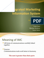 Integrated Marketing Information System