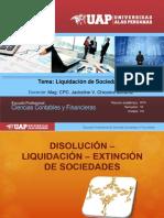 Liquidacion de Sociedades