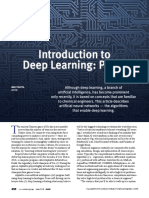 Introduction to Deep Learning, Part 1