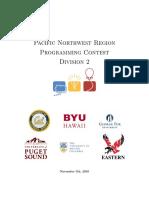 20162017 Acmicpc Pacific Northwest Regional Contest Div 2 En