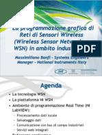 La Programmazione Grafica Di Reti Di Sensori Wireless in Ambito ale ITA
