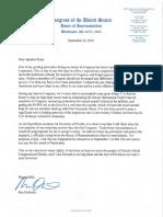 Ron DeSantis Resignation Letter