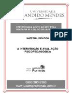 A AVALIAÇÃO E INTERVENÇÃO PSICOPEDAGÓGICA.pdf