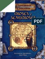 D&D 3.0 Dioses y Semidioses