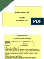 1-Introducción Espectrometría  30 Marzo 17.ppt