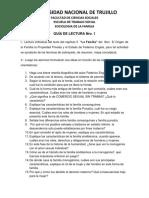 Guía de Lectura Nro.1