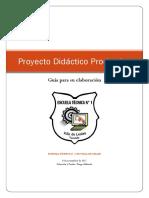 Guia Proyecto Didáctico Productivo