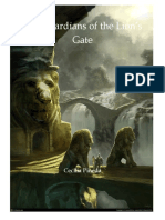 The Guardians of the Lion - Sample Cover 1