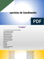 Coordinación Fonorespiratoria