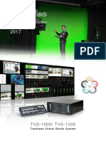 Datavideo Virutal Studio Solutions2016-2017