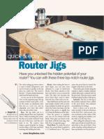 Router Jigs