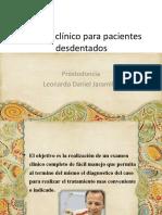 Examenclnicoparapacientesdesdentados 150613160249 Lva1 App6892