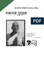 Metodos de Ensenanza Del Hatha Yoga