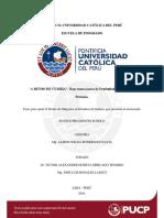 Lo Popular en La Ciudad Peruana