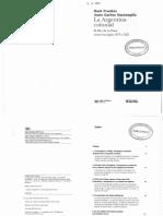 LA ARGENTINA COLONIAL Fradkin  - Garavaglia (Introd. y el Cap. N° 1).pdf