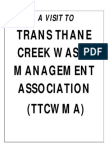 A Visit to Ttcwma