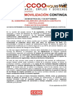 2415345-2018!09!10 Comunicado CCOO-Correos Notificaciones Consejo de Ministros