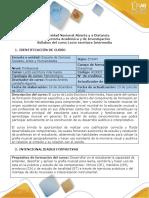 Syllabus Del Curso Lecto-escritura Intermedia