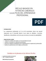 Currículo Basado en Competencias Laborales Didácticas Del Aprendizaje