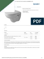 Duravit - Duraplus Inodoros Inodoro Suspendido Compact #022809 de Duravit
