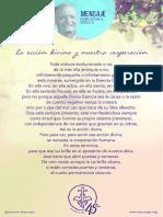 P. Dávila (La Accion Divina y Nuestra Cooperación)