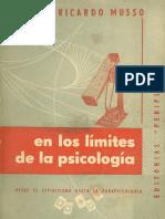 En Los Limites de La Psicologia - Ricardo Musso