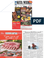 "Kuta Weekly - Edition 603 ""Bali's Premier Weekly Newspaper"""