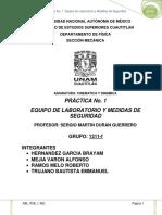 Reporte de La Practica 1 Grupo 1311 f