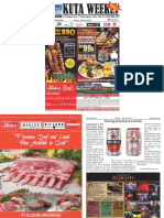 "Kuta Weekly - Edition 605 ""Bali's Premier Weekly Newspaper"""