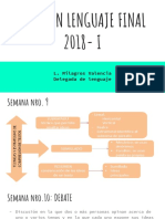 Resumen Lenguaje Final 2018- i