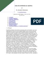 Alexander Schmemann - Problemas Da Ortodoxia Na América