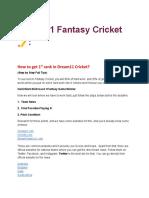 Fantasy cricket and football tips and tricks english.pdf
