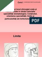 Curs 1 Importanţa Şi Locul Chirurgiei Orale Şi Maxilo-faciale În2012-2013