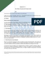 roles y funciones del trabajo social