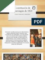 Presentacion Constitución de Apatzingán de 1824