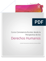 Curso Concivencia Escolar desde los CNDH