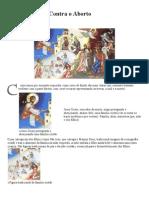 Ícone Ortodoxo Contra o Aborto