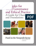 Ethical Standards Principles Guide - Synopsis