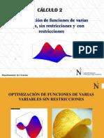 14_optimizacion Sin y Con Restricciones (1)