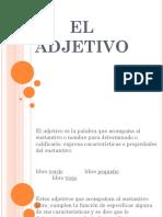 El Adjetivo (1)