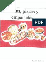 Pizzas, Tartas y Empanadas.