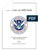 CBP Private Air Travel Guide