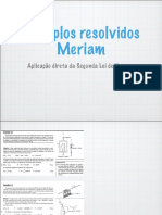 Exemplos Resolvidos Meriam - Aplicação Direta Da Segunda Lei de Newton