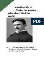 The Fascinating Life of Nikola Tesla
