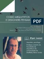 Bryan-lawson-final-como Arquitetos e Designers Pensam