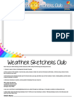 Weather Sketcher Entry Form