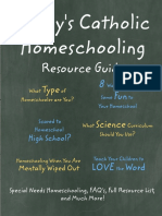 Todays Catholic Homeschooling Resource Guide PDF