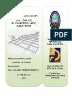 ALCANTARILLADO UMSA