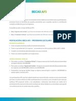 Información de Las Becas de AFS